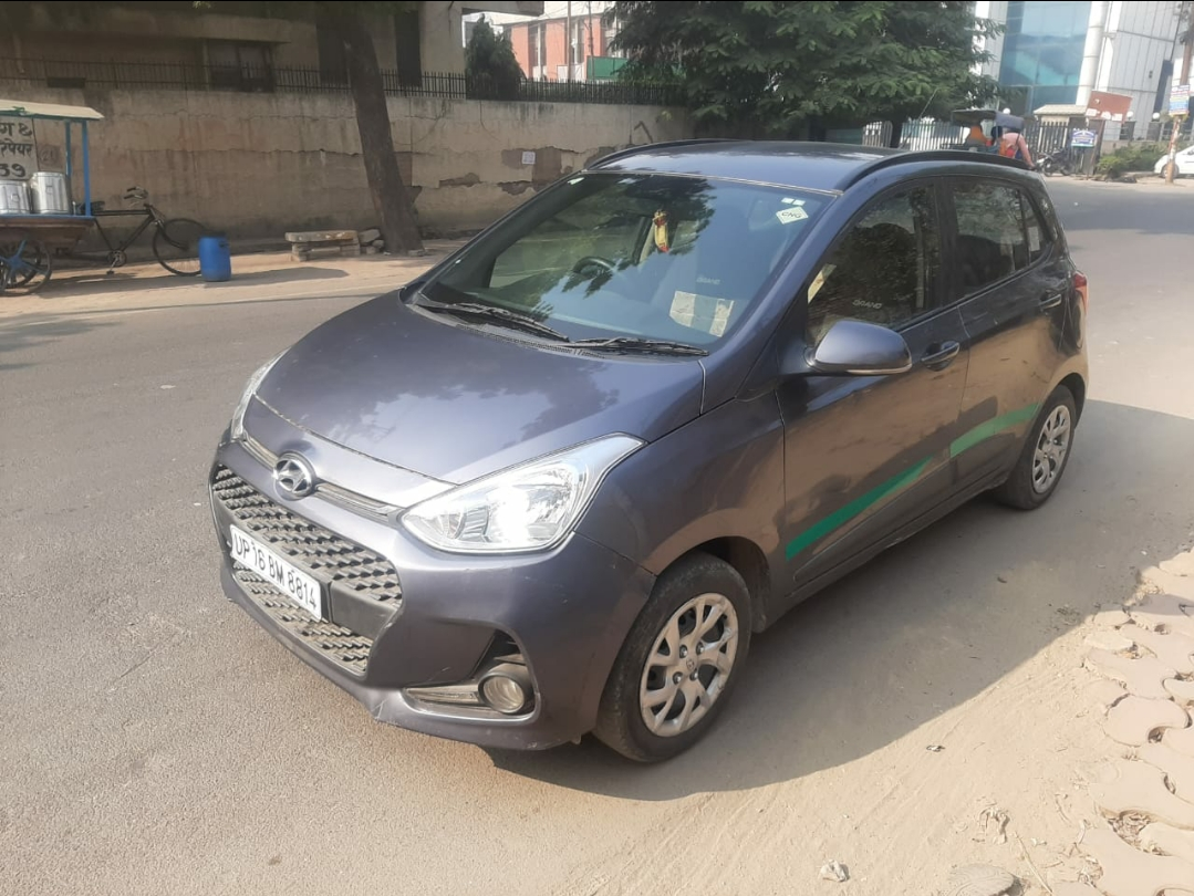 2017 Used HYUNDAI GRAND I10 SPORTZ CNG