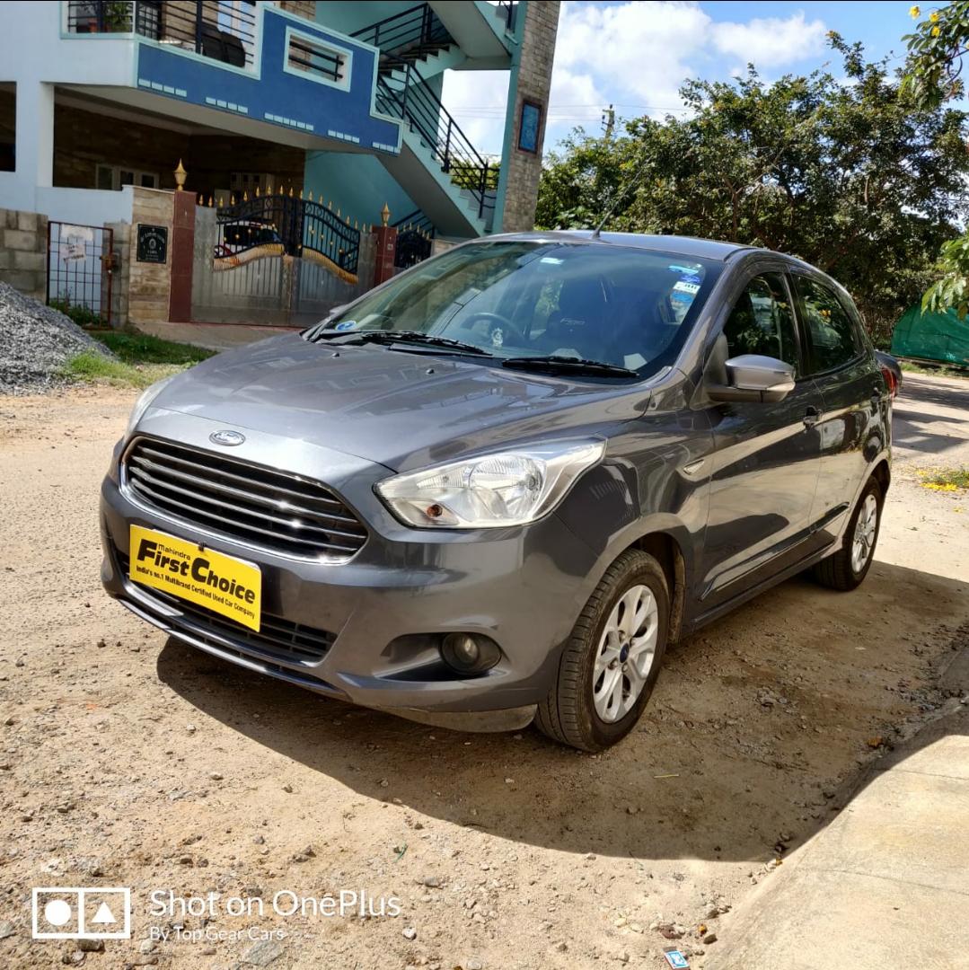 2016 Used Ford Figo TITANIUM 1.2