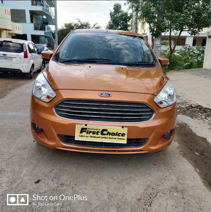 2015 Used Ford Figo TITANIUM  1.5