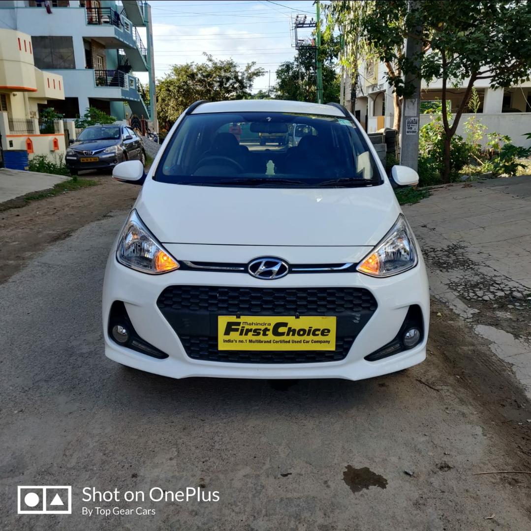 2019 Used Hyundai Grand I10 SPORTZ 1.2 KAPPA VTVT
