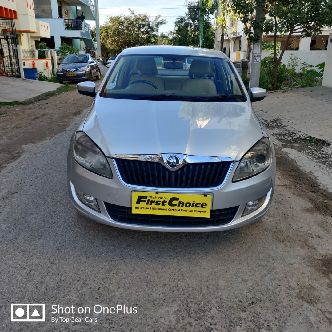 2014 Used SKODA RAPID ELEGANCE 1.6 TDI MT