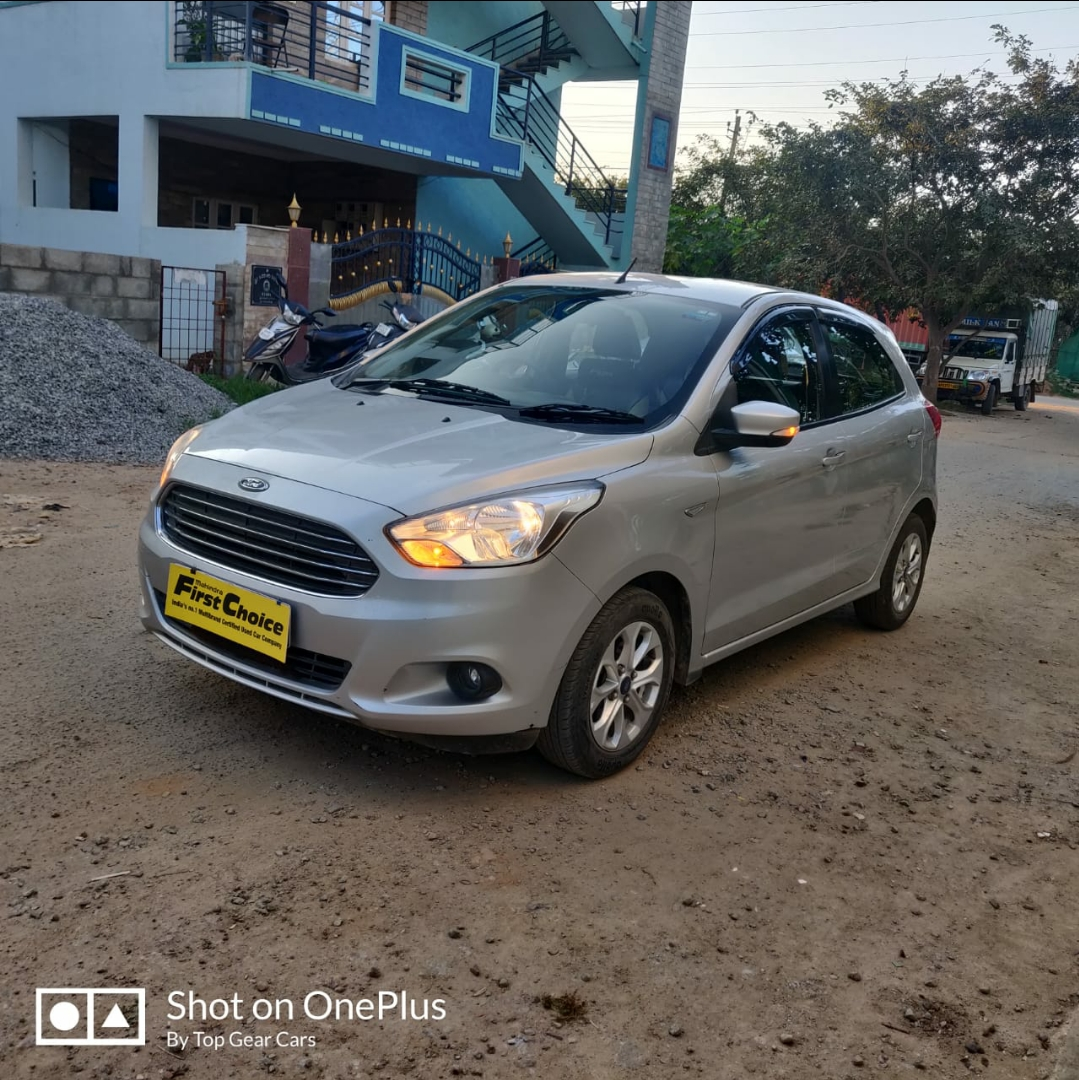 2018 Used FORD FIGO TITANIUM 1.2