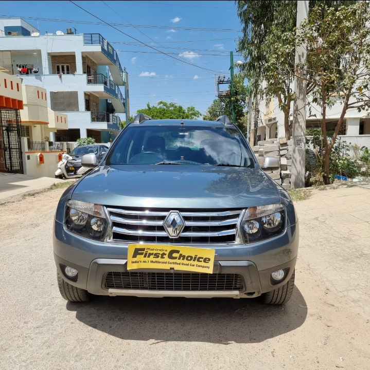 2016 Used RENAULT DUSTER 110 PS RXZ 4X4 MT