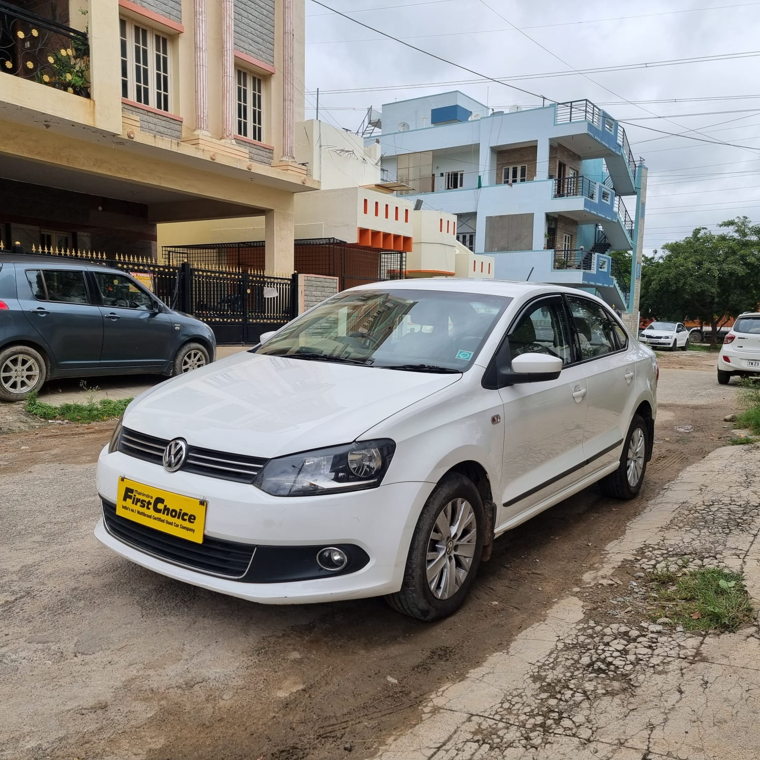 2015 Used Volkswagen Vento HIGHLINE 1.5 DIESEL AT
