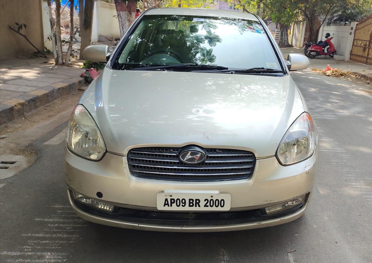 2008 Used Hyundai Verna VGT CRDI SX