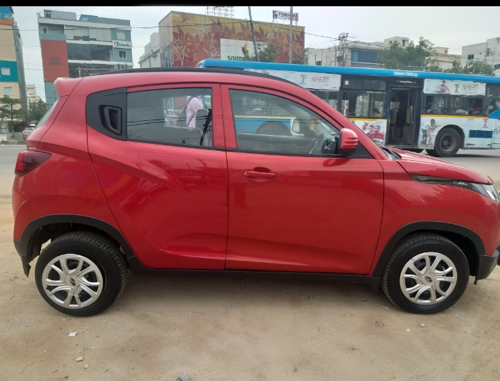 2017 Used Mahindra Kuv100 K4 PLUS 5 SEATER DIESEL