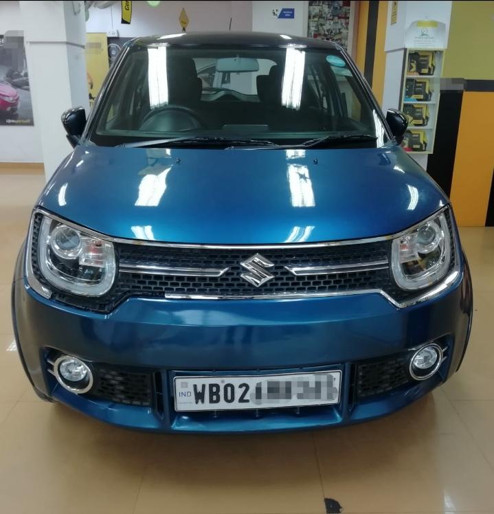 2018 Used Maruti Suzuki Ignis ALPHA 1.2 MT