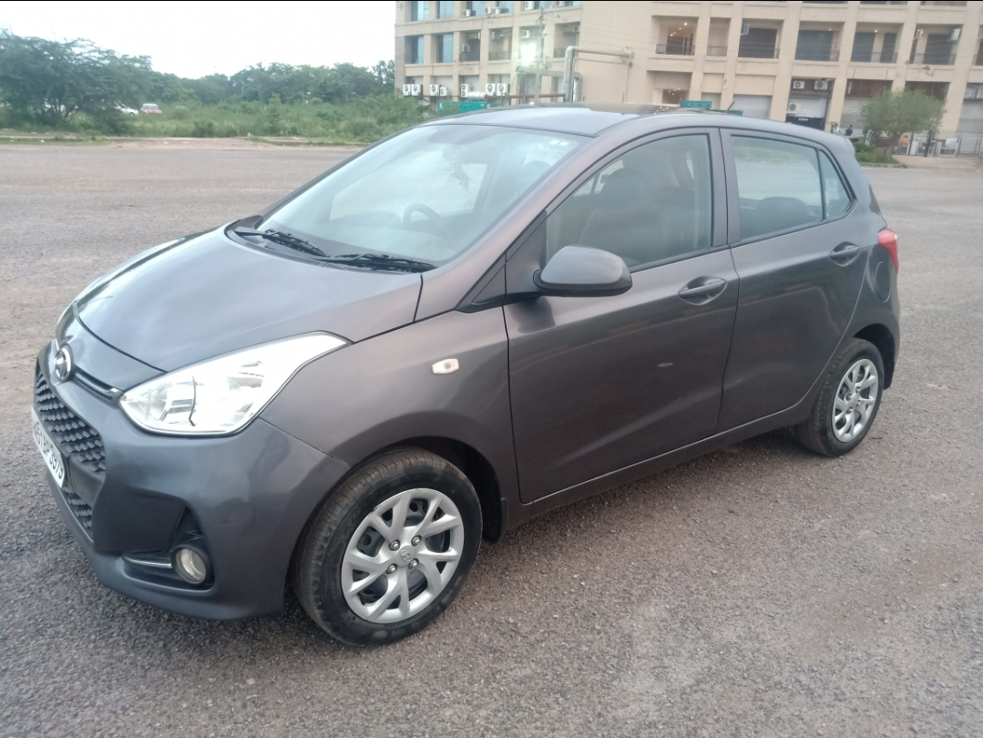 2017 Used Hyundai Grand I10 1.2 KAPPA SPORTZ