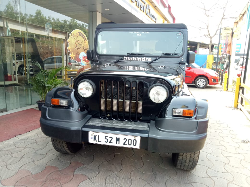 2017 Used Mahindra Thar CRDE 4X4 BS IV