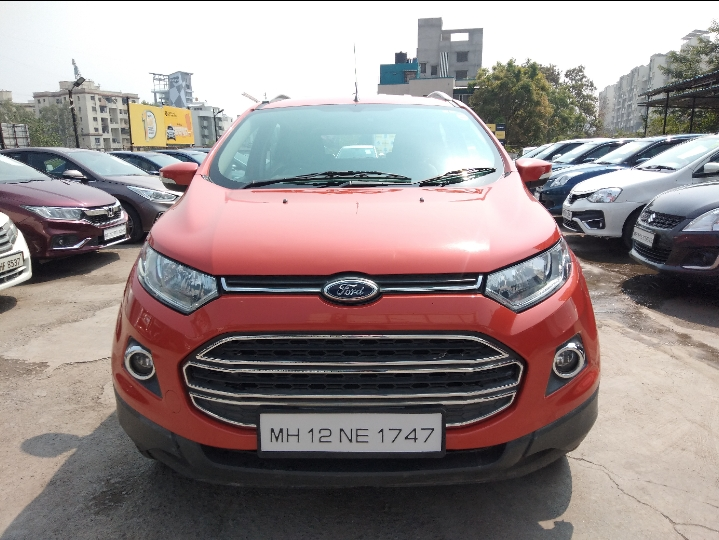 2016 Used Ford Ecosport TITANIUM 1.5 TI VCT AT