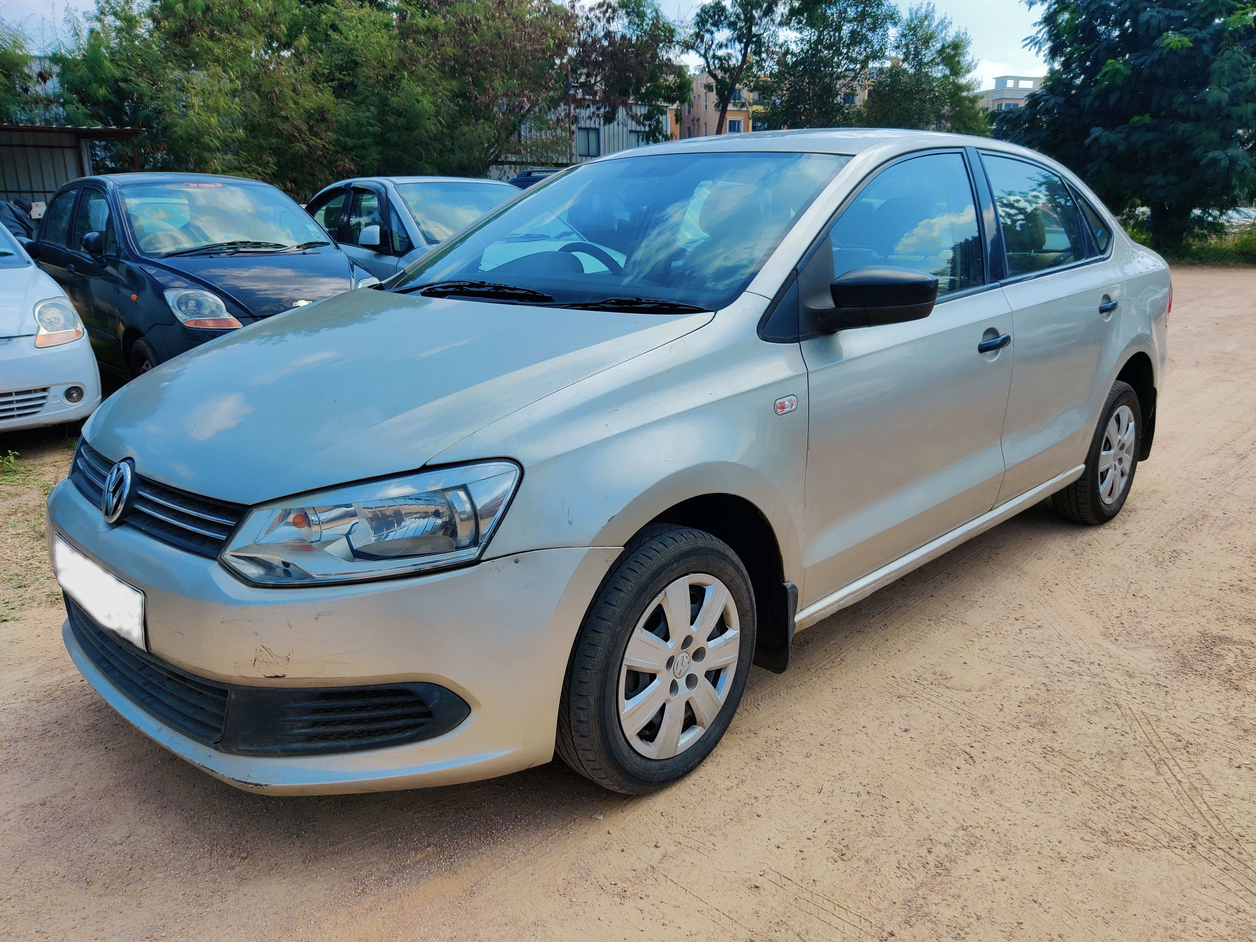 2013 Used Volkswagen Vento TRENDLINE PETROL