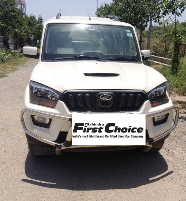 2017 Used Mahindra Scorpio S6 PLUS
