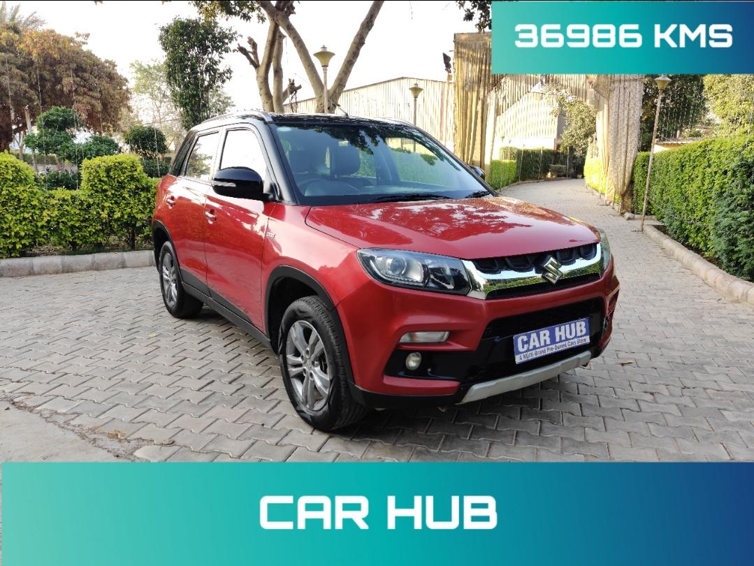 2017 Used Maruti Suzuki Vitara Brezza ZDI PLUS DUAL TONE