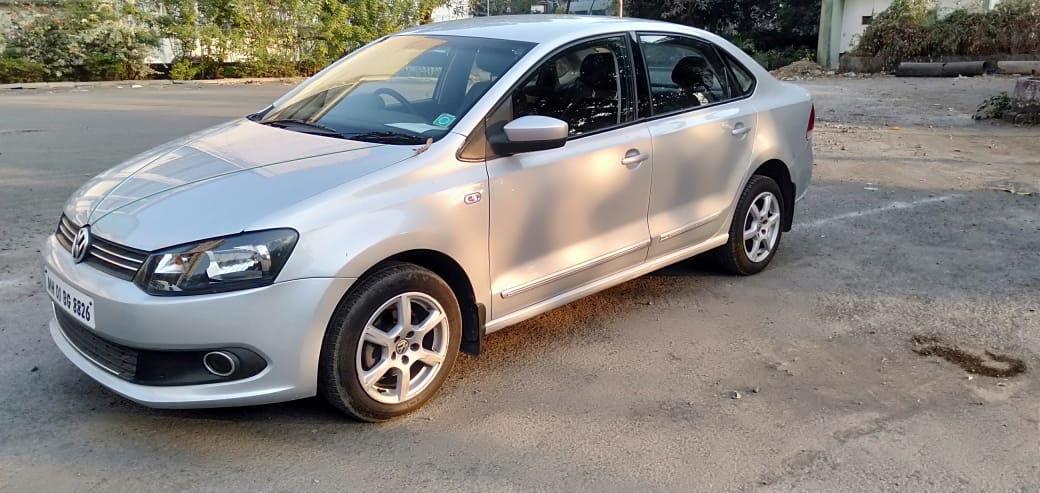 2013 Used VOLKSWAGEN VENTO HIGHLINE PETROL AT