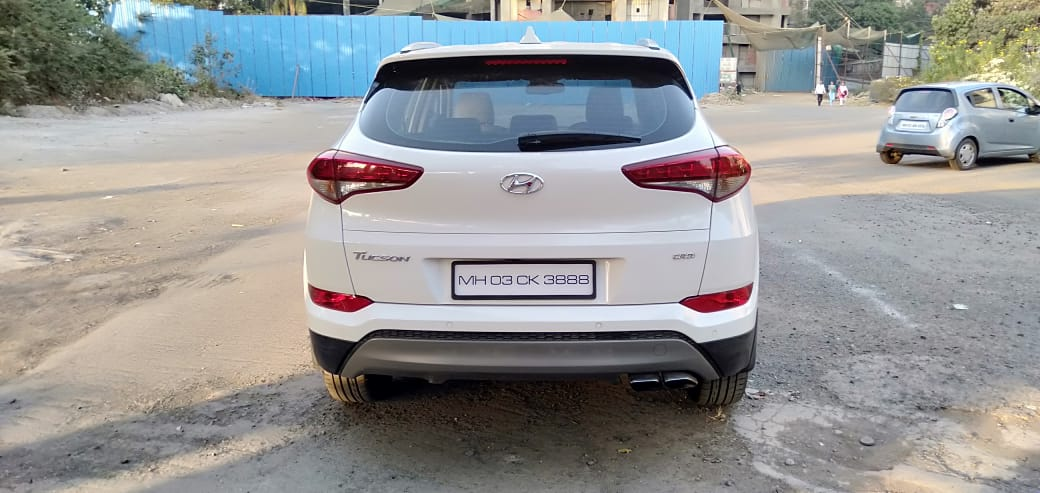 2017 Used HYUNDAI TUCSON 2WD AT GLS DIESEL