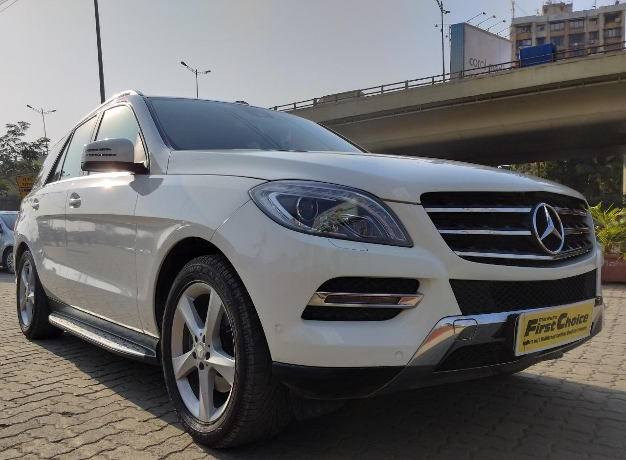 2013 Used MERCEDES BENZ ML CLASS 350 CDI BLUE EFFICIENCY