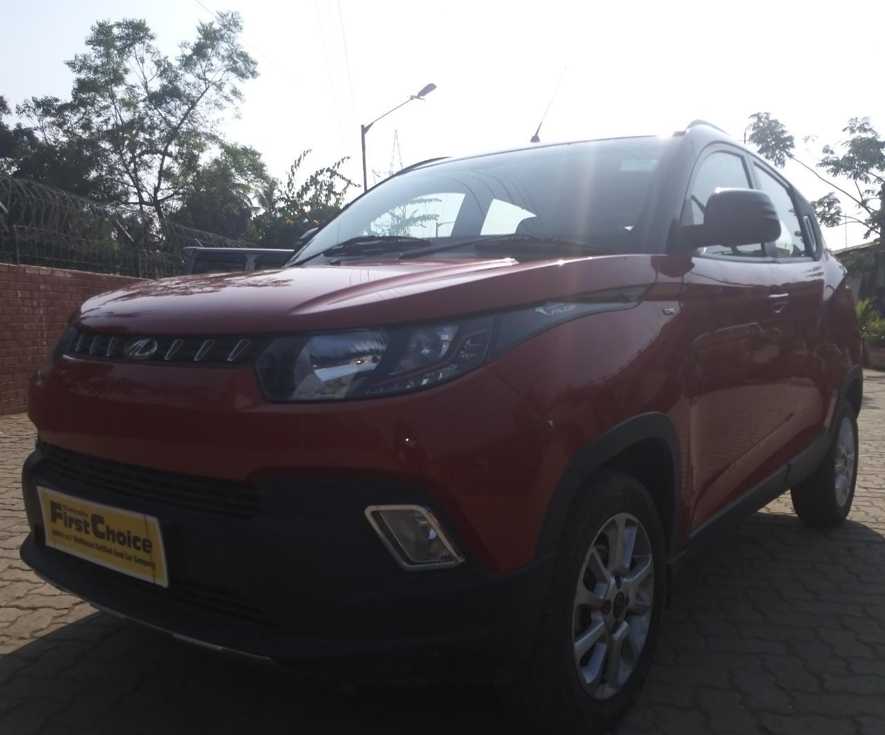 2017 Used Mahindra Kuv100 K8 6 SEATER DIESEL