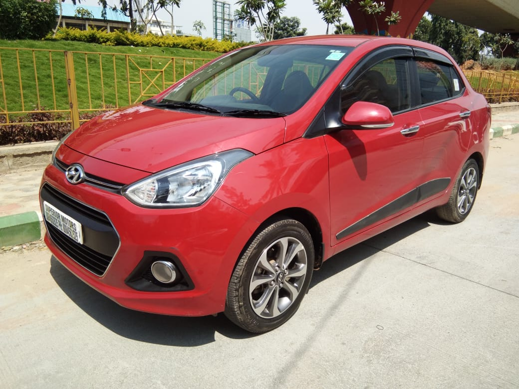 2016 Used HYUNDAI XCENT 1.2 KAPPA DUAL VTVT 5-SPEED MANUAL SX (O)