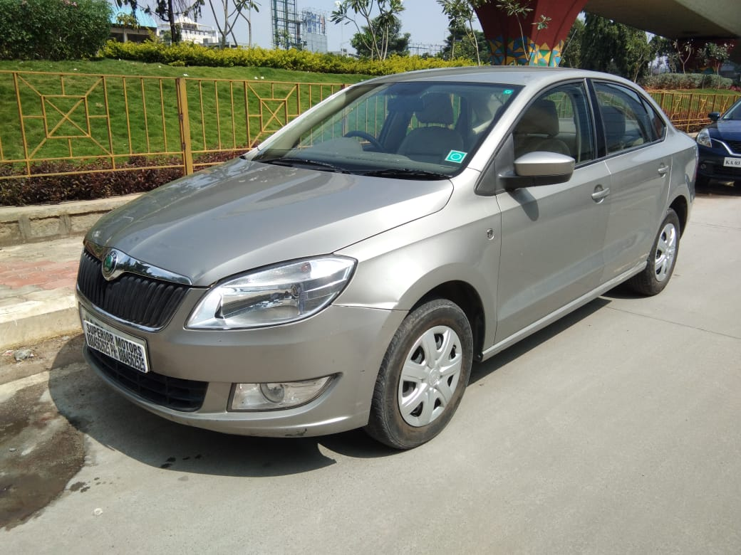 2012 Used SKODA RAPID AMBITION 1.6 MPFI MT