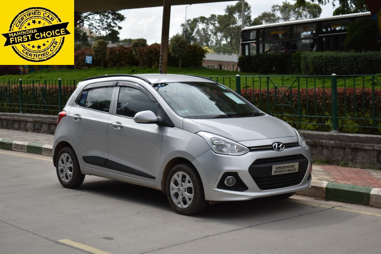 Hyundai Grand I10 Sportz 1 2 Kappa Vtvt Mahindra First Choice