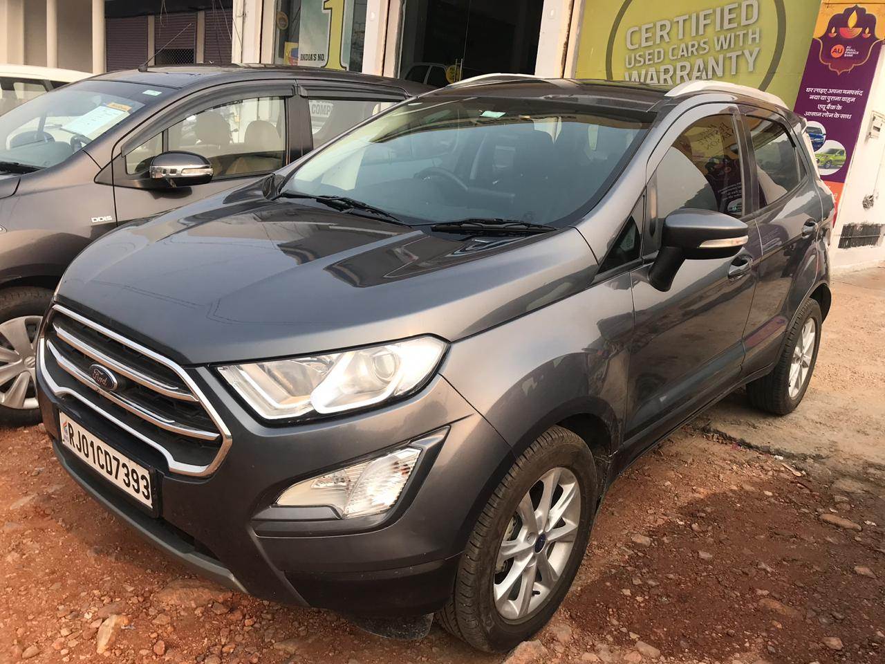 2018 Used FORD ECOSPORT AMBIENTE 1.5 TDCI