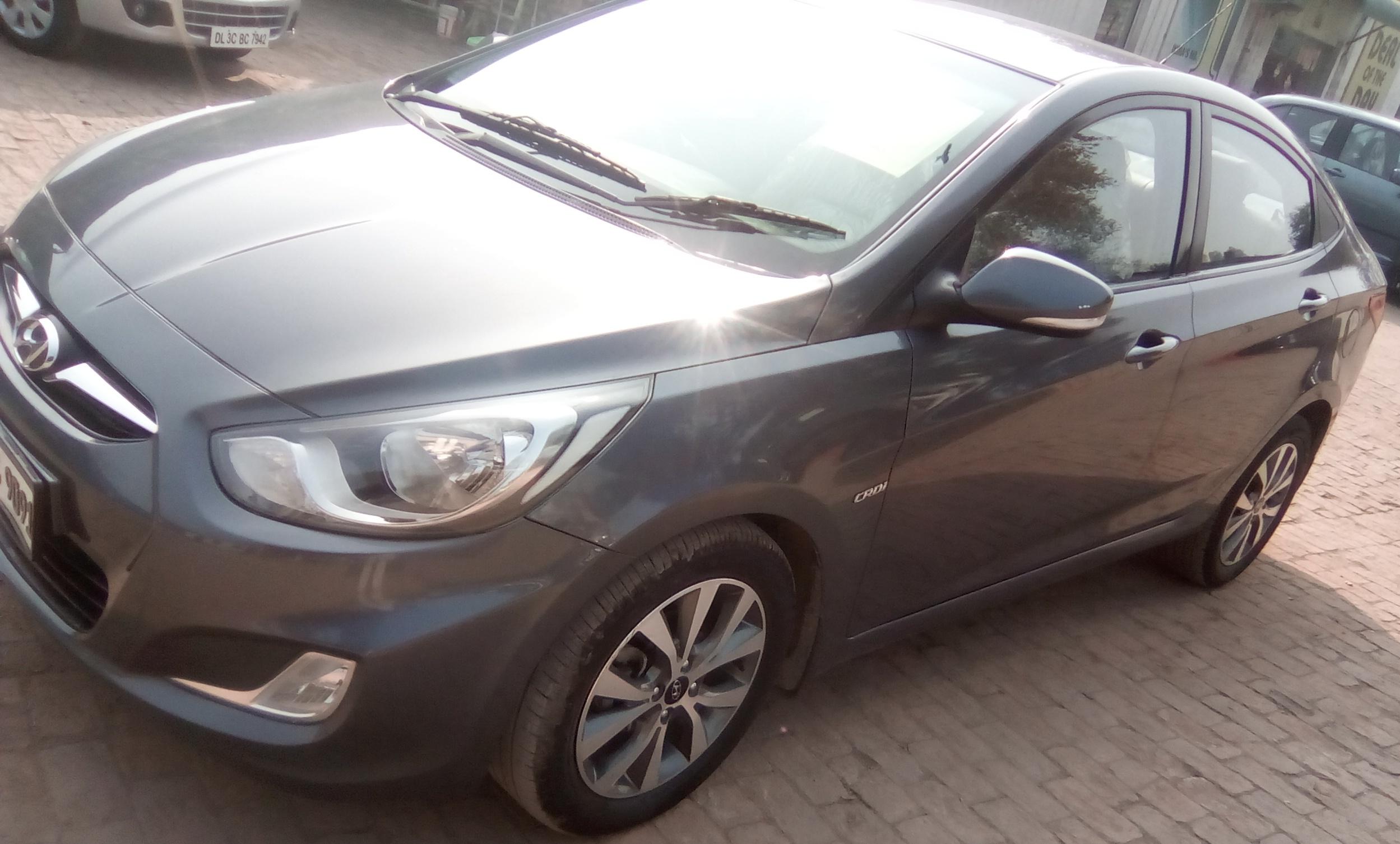 2015 Used Hyundai Verna 1.6 SX CRDI AT
