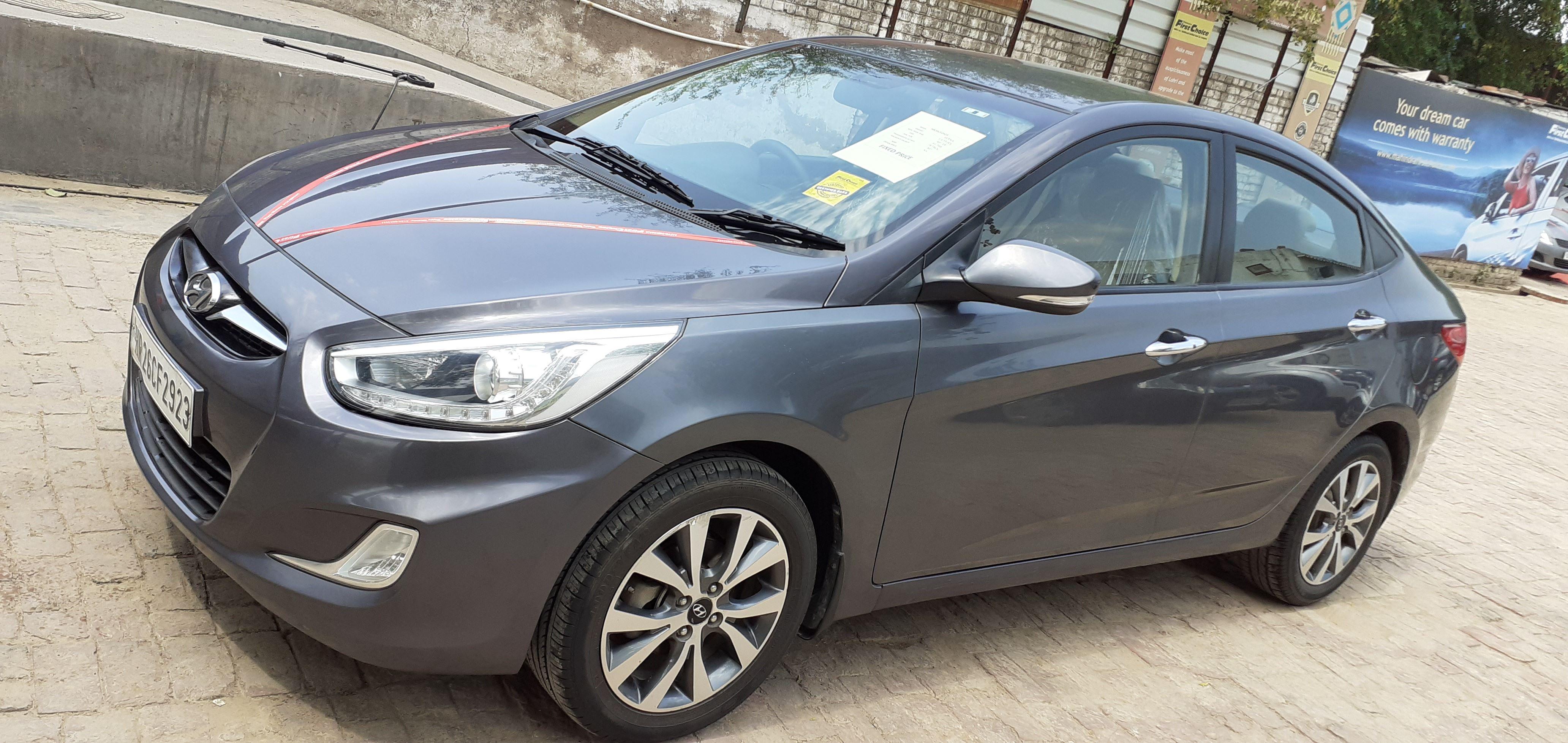2014 Used Hyundai Verna FLUIDIC 1.6 SX VTVT OPT
