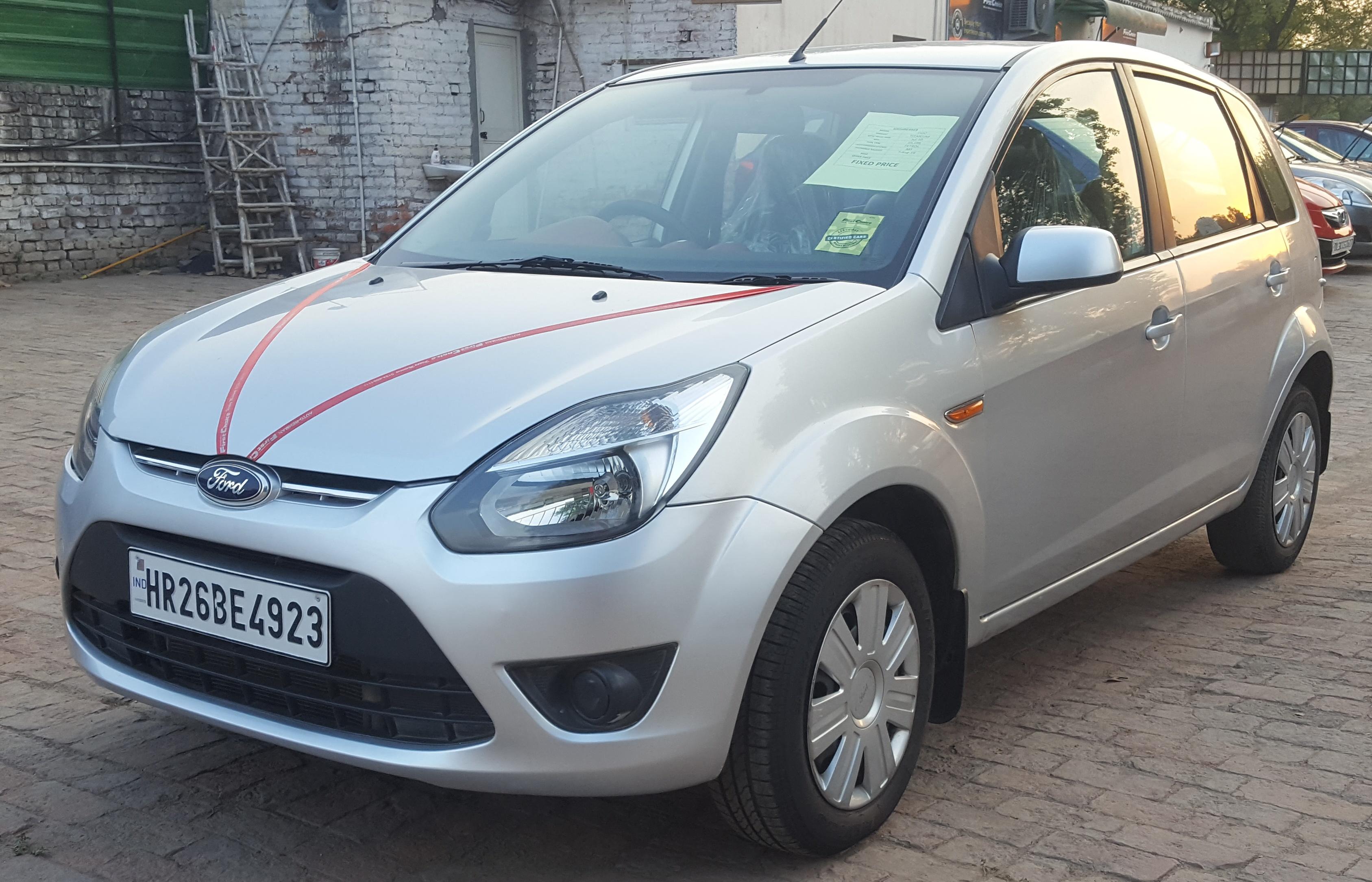 2010 Used Ford Figo DURATEC TITANIUM 1.2