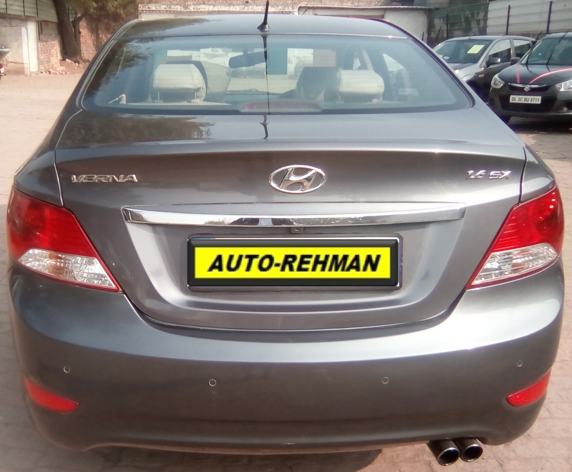 2015 Used HYUNDAI VERNA 1.6 SX CRDI AT