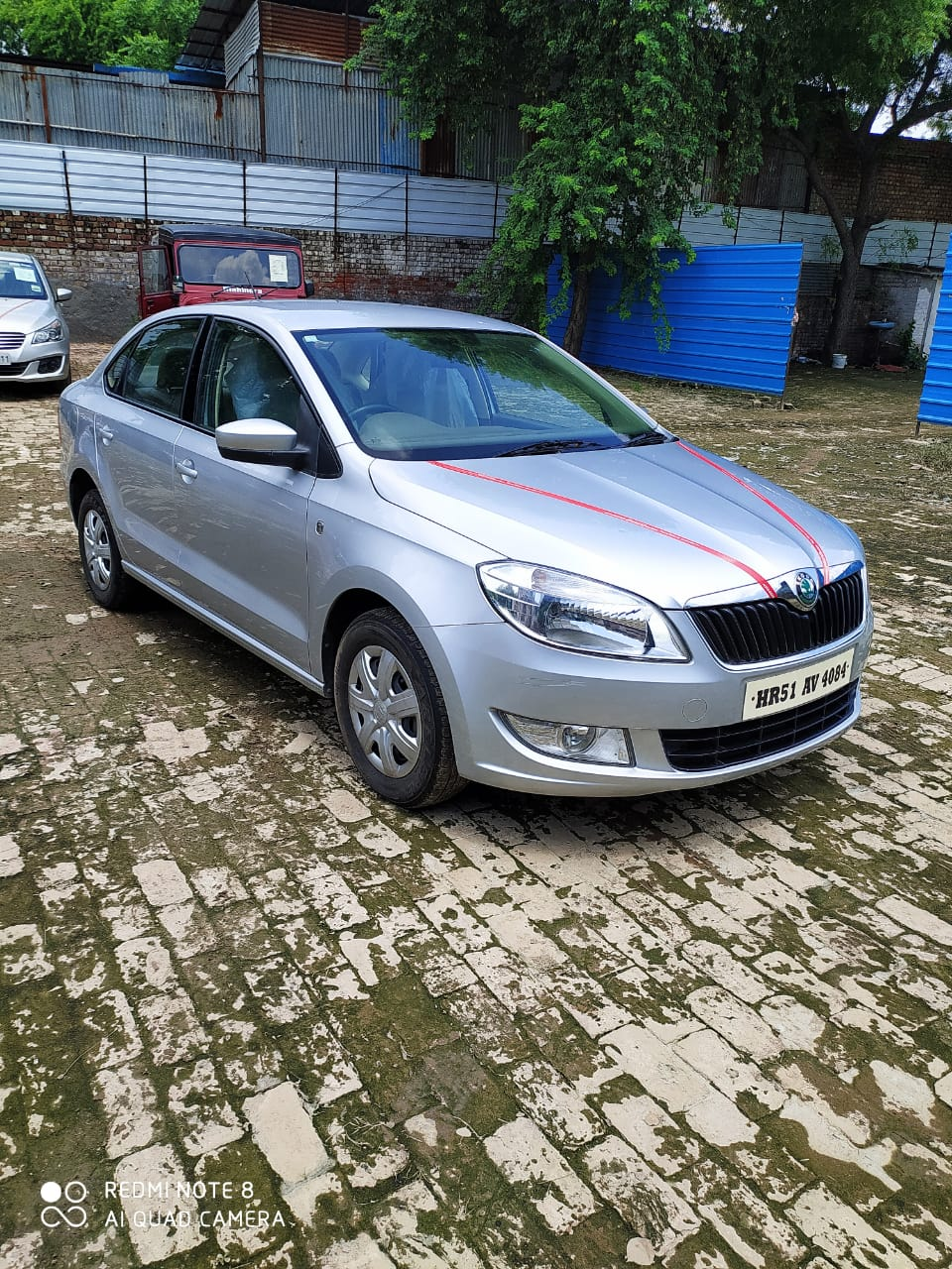 2013 Used SKODA RAPID AMBITION 1.6 MPFI MT