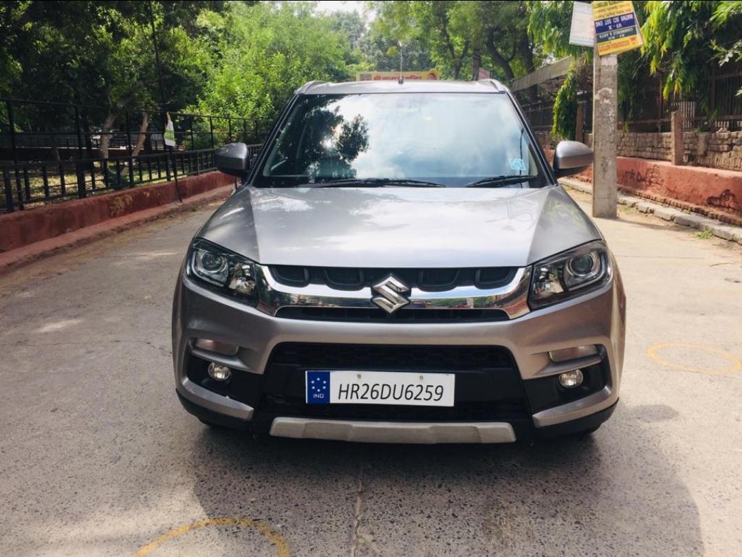 2018 Used Maruti Suzuki Vitara Brezza ZDI AGS