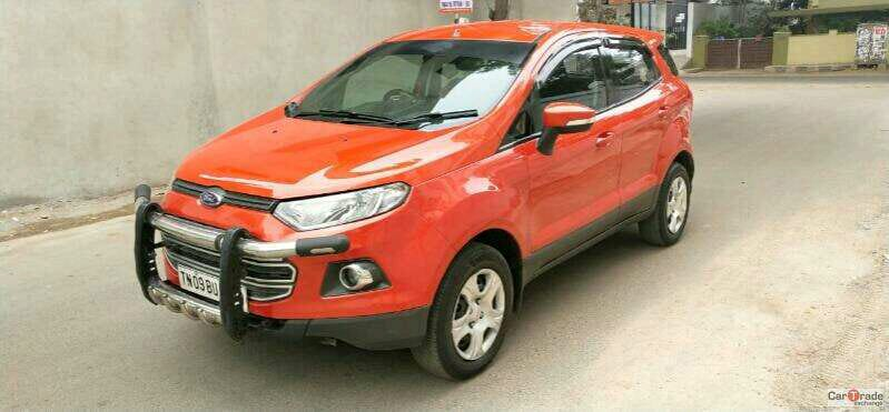 2013 Used FORD ECOSPORT TREND 1.5 TDCI
