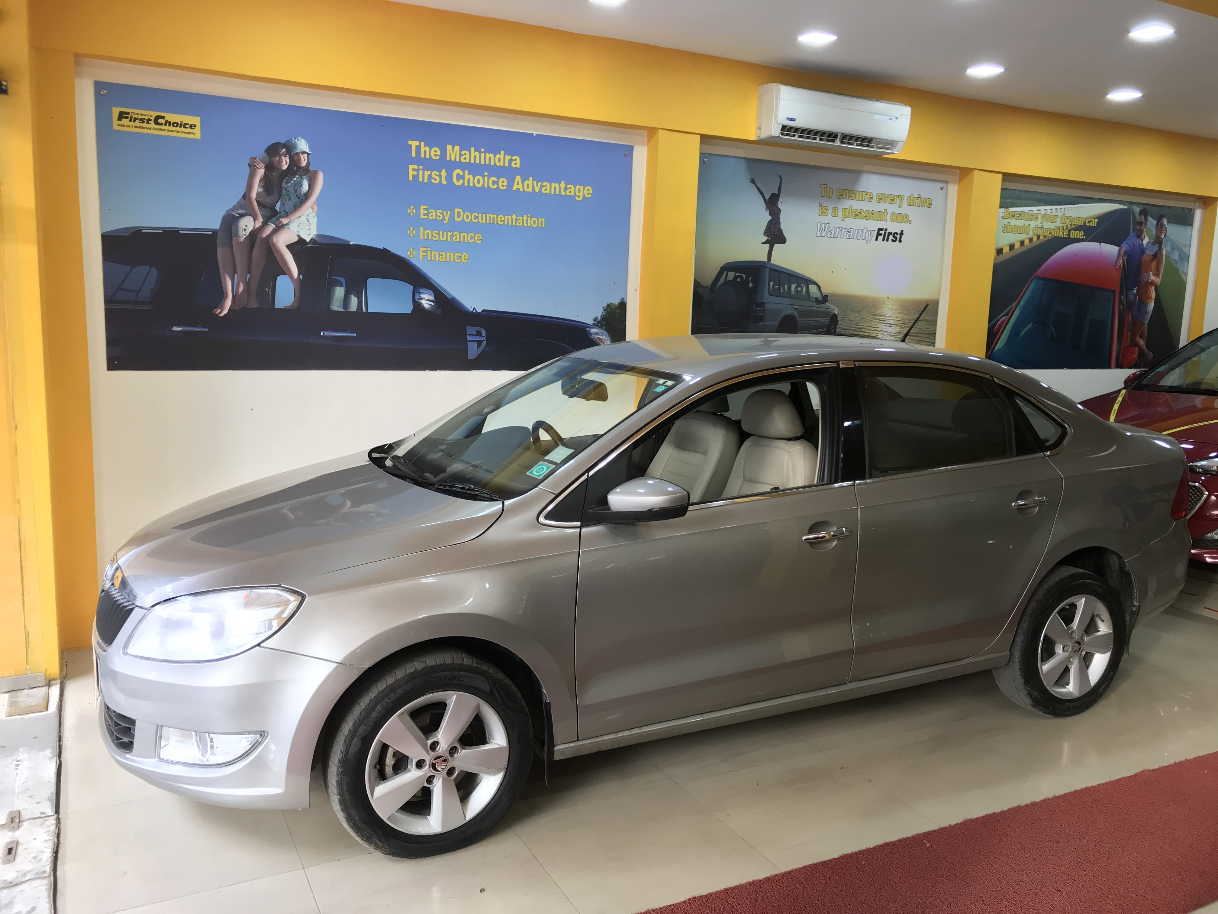2016 Used SKODA RAPID(2015_2016) 1.6 MPI AMBITION MT