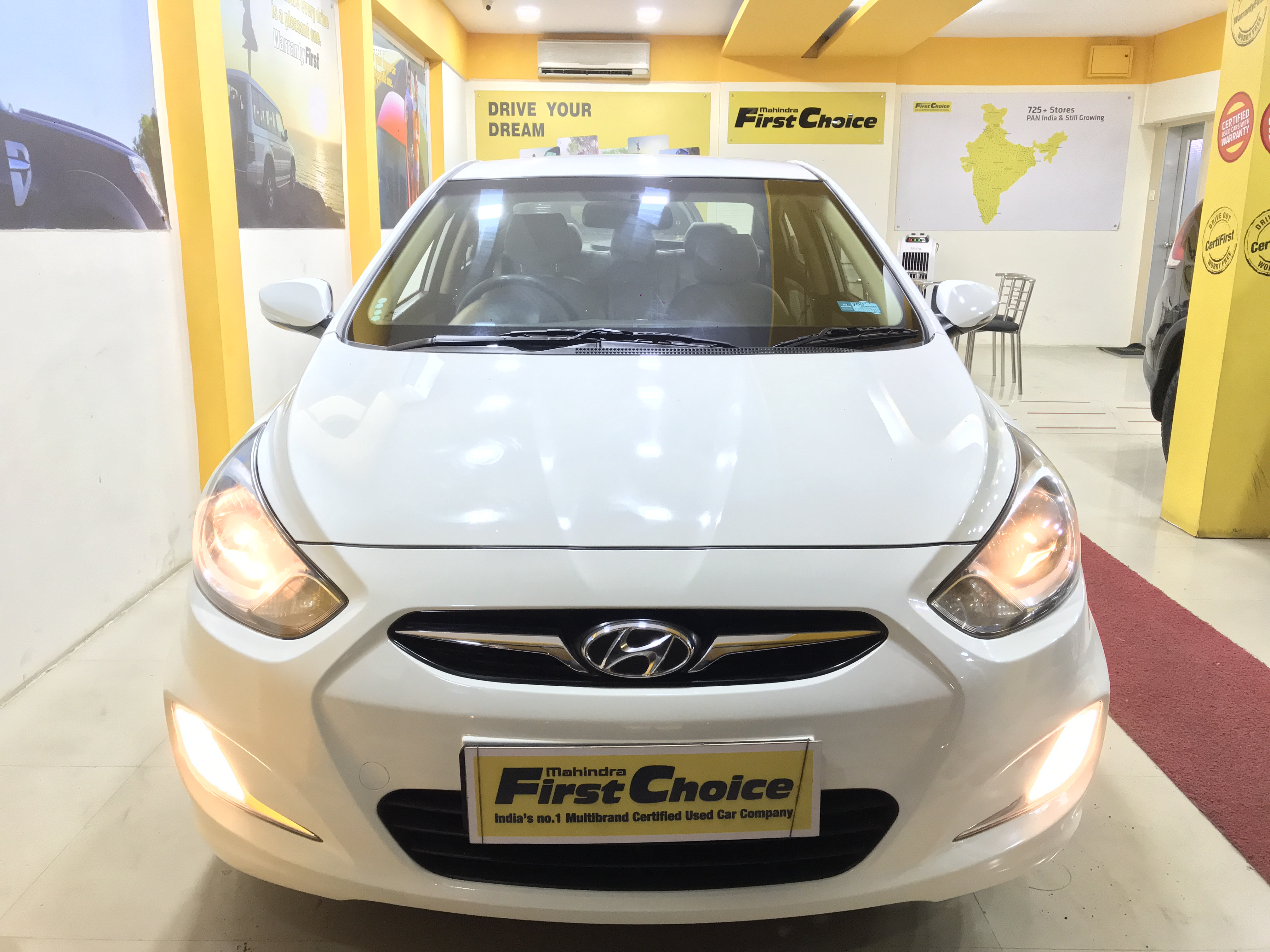 2013 Used Hyundai Verna FLUIDIC 1.6 SX VTVT