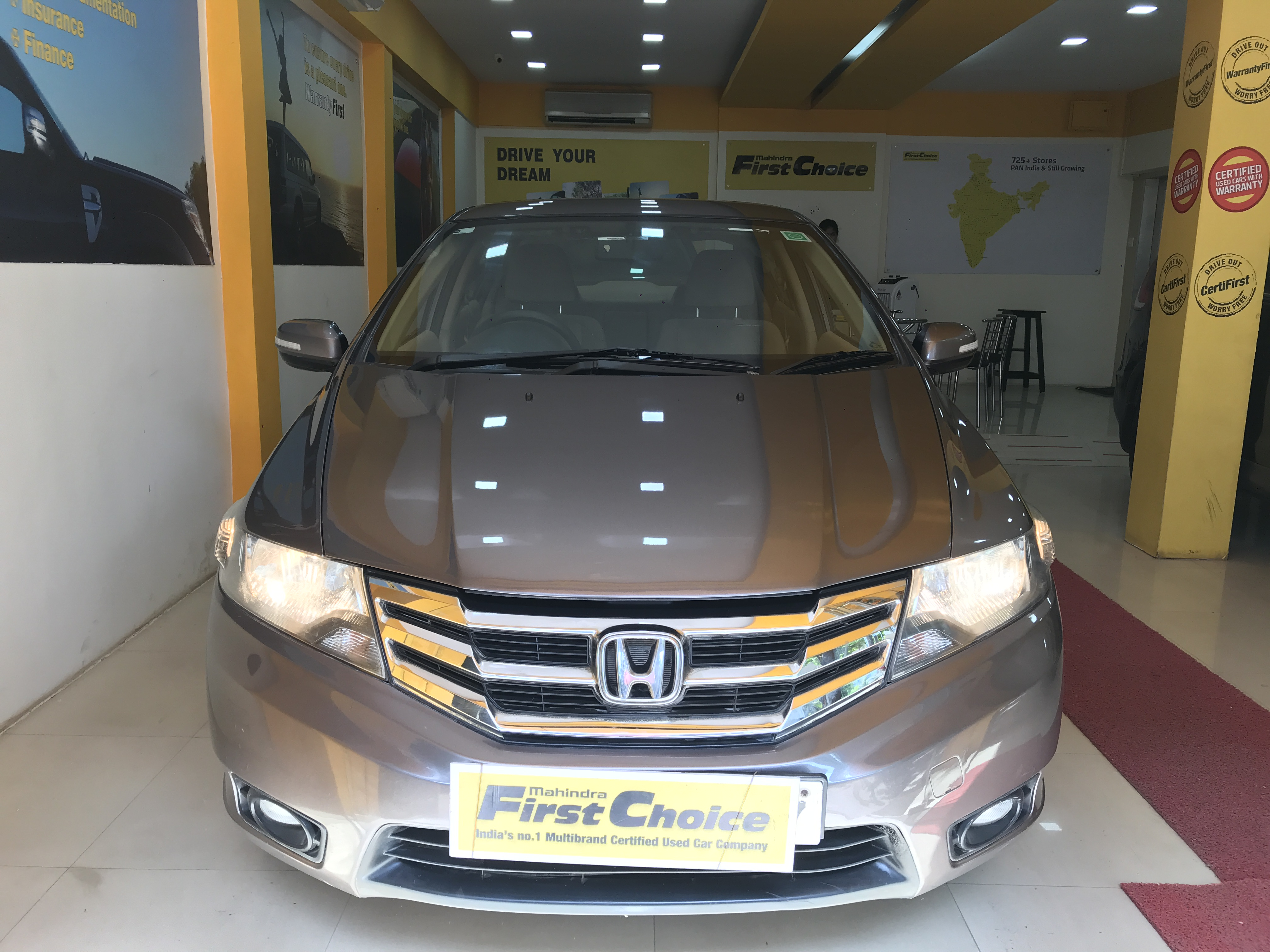 2013 Used HONDA CITY V MT AVN