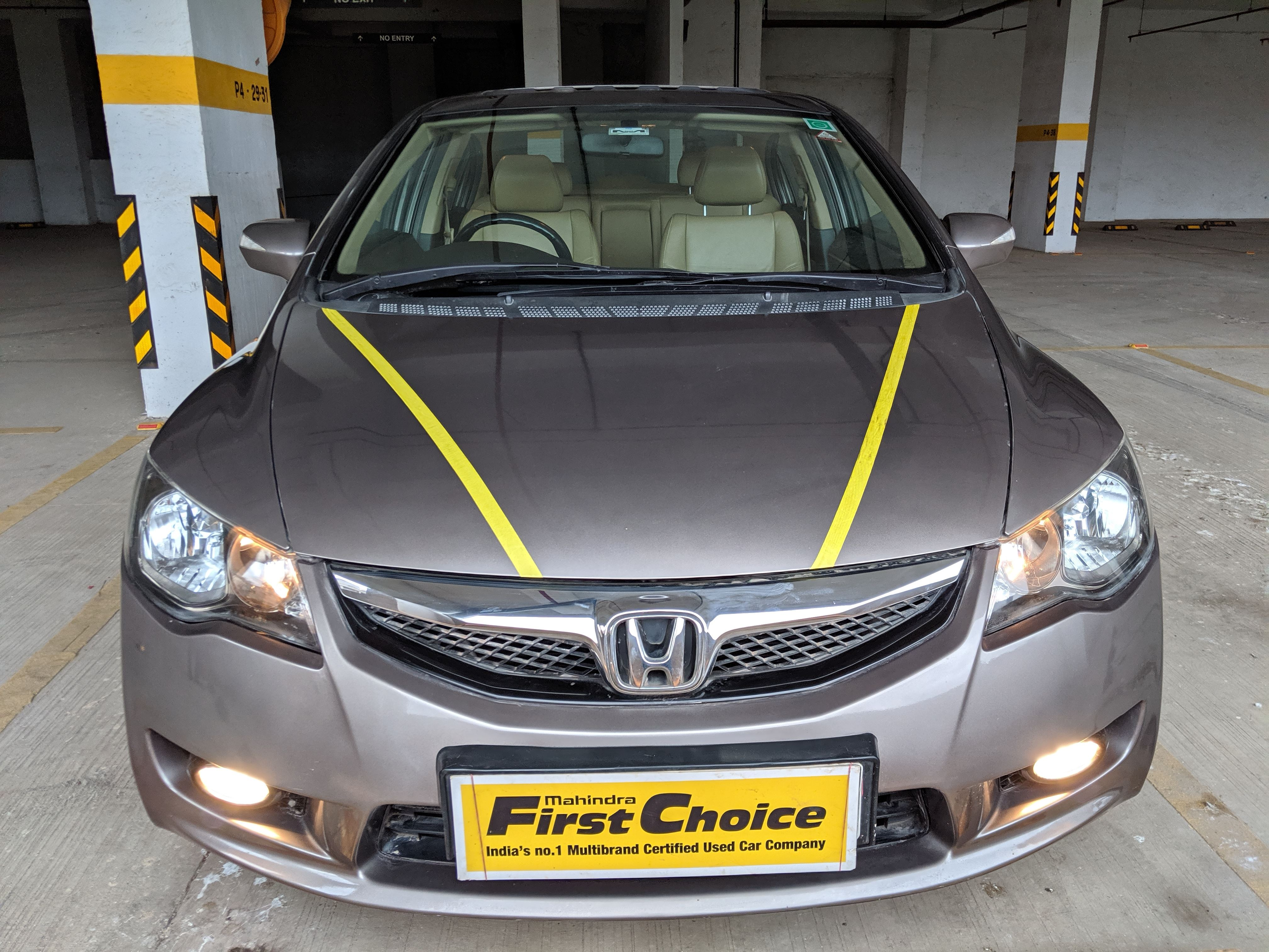 2013 Used HONDA CIVIC 1.8V AT SUN ROOF