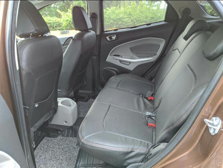 2017 Used Ford Ecosport TITANIUM 1.5 TI VCT AT