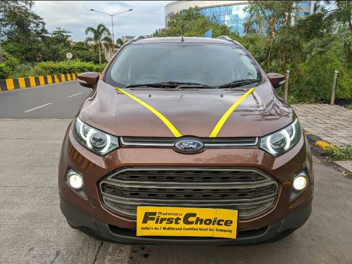 2017 Used Ford Ecosport TITANIUM 1.5 TI VCT AT