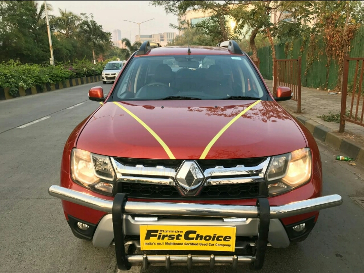 2016 Used RENAULT DUSTER 110 PS RXZ 4X2 AMT