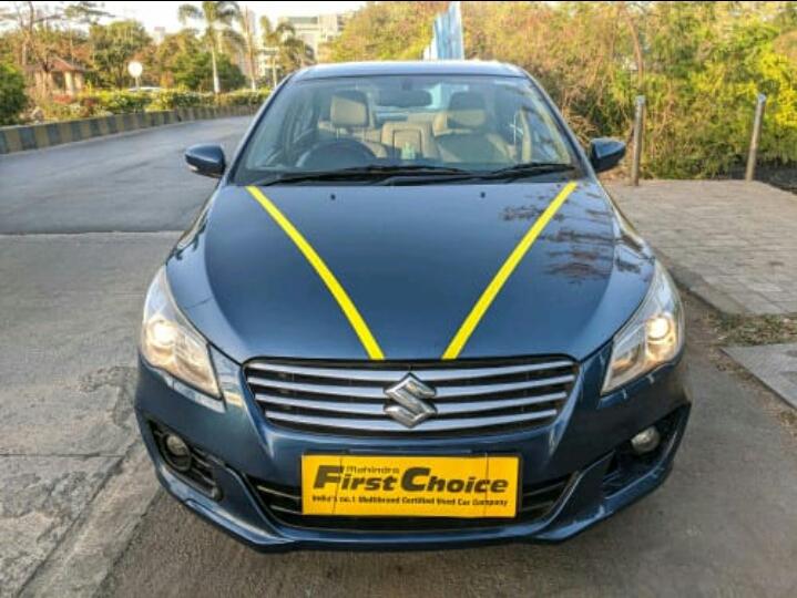 2017 Used Maruti Suzuki Ciaz ALPHA 1.5 MT