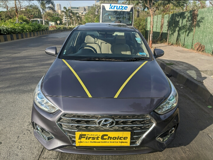 2017 Used HYUNDAI VERNA FLUIDIC 1.6 SX VTVT OPT AT