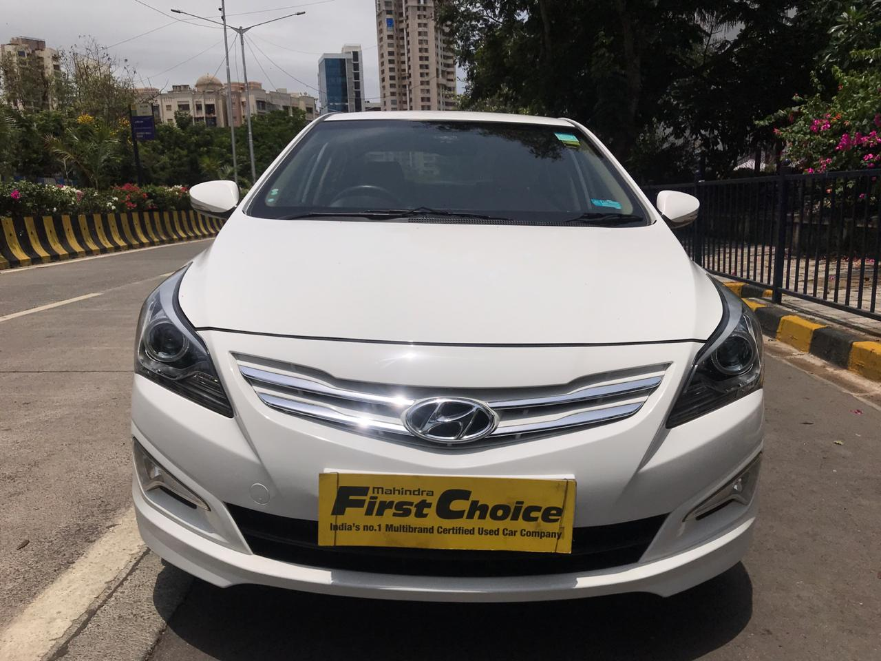 2015 Used HYUNDAI VERNA FLUIDIC 1.6 SX VTVT OPT AT