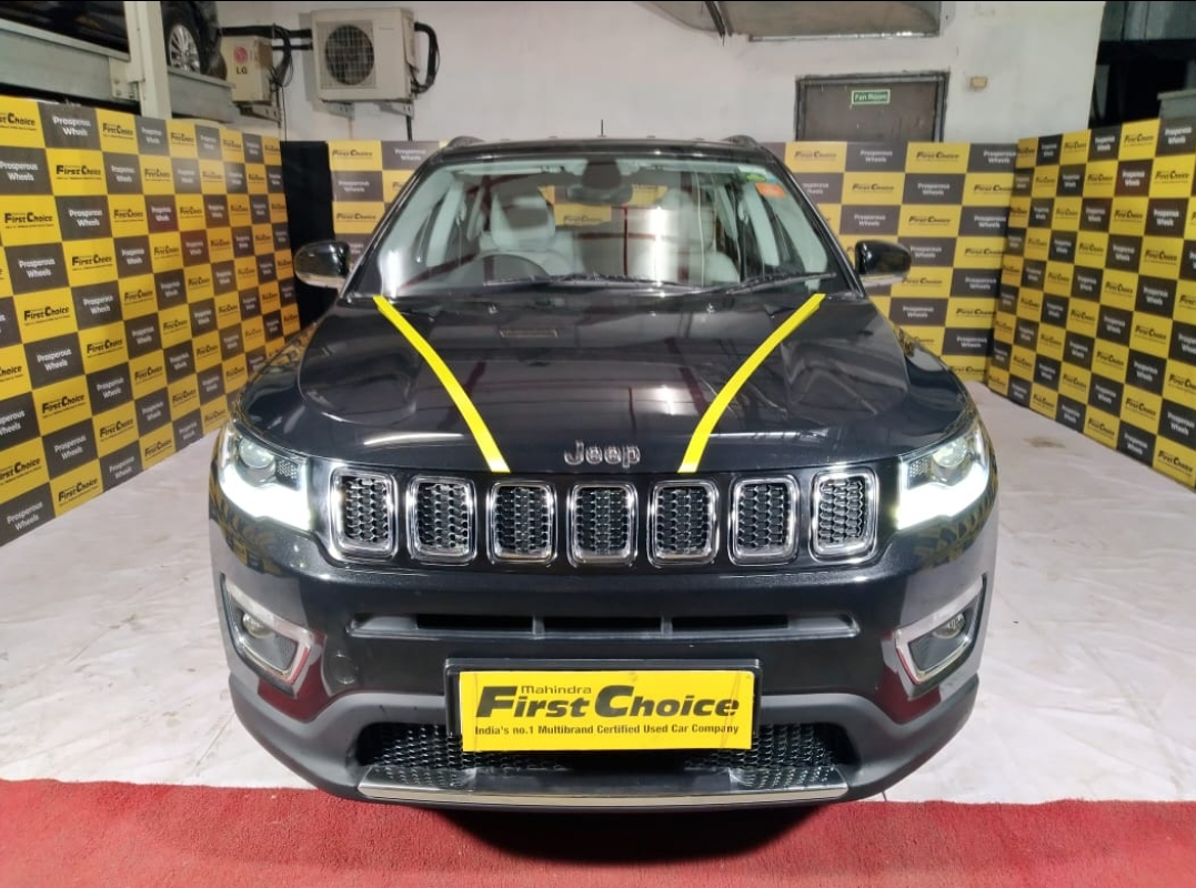 2017 Used Jeep Compass LIMITED O 1.4 PETROL AT