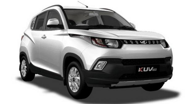 2018 Used Mahindra Kuv100 Nxt K2 6 STR