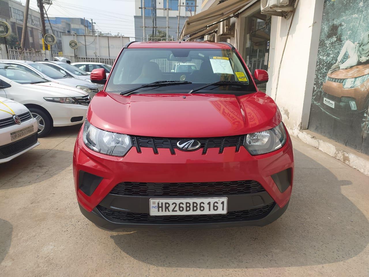 2017 Used Mahindra Kuv100 Nxt K4 PLUS 6 STR