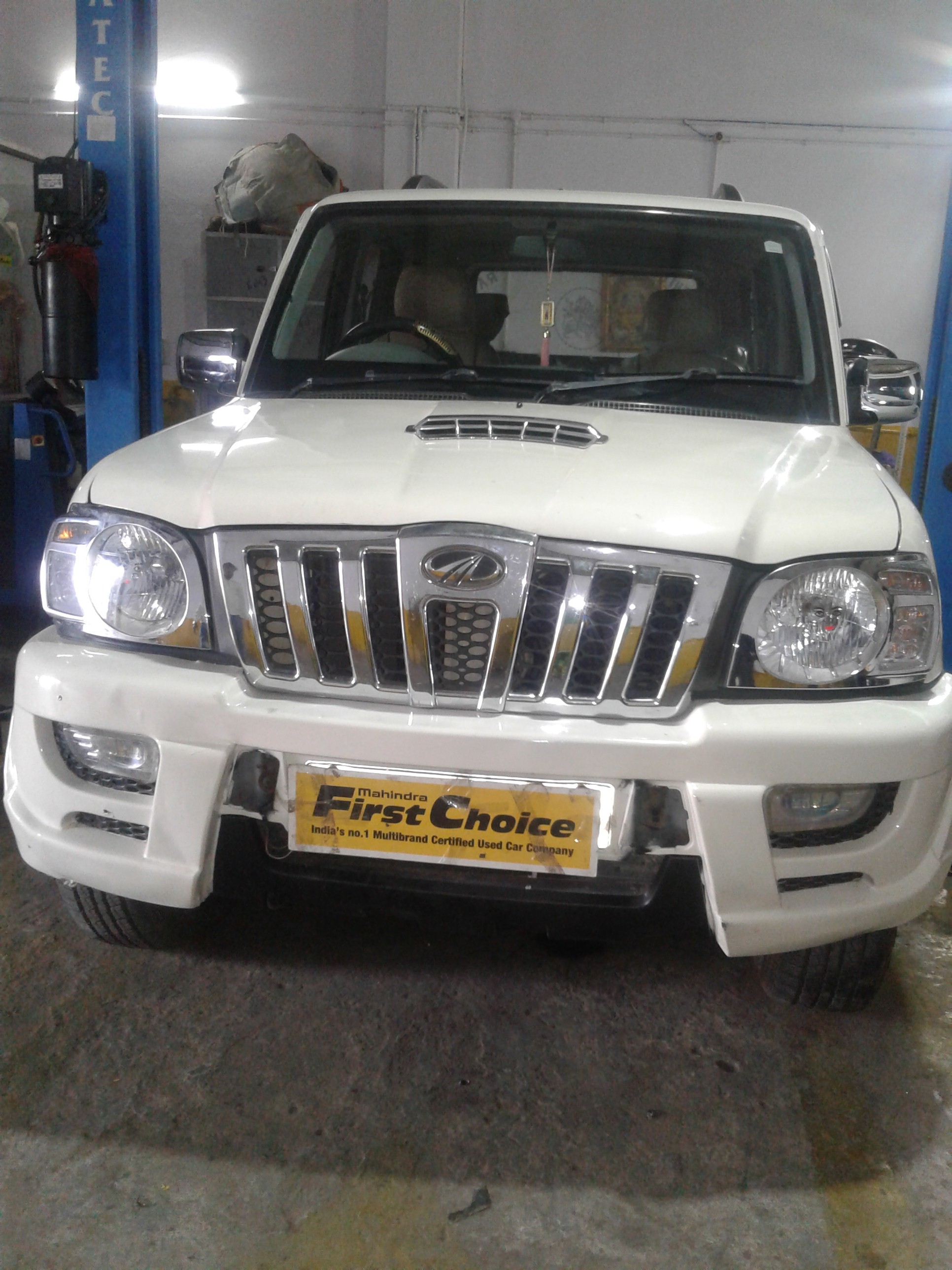 2012 Used Mahindra Scorpio LX BS III