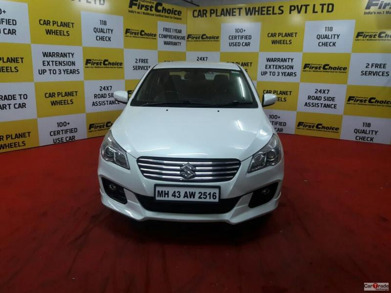 2016 Used Maruti Suzuki Ciaz ZXI PLUS RS