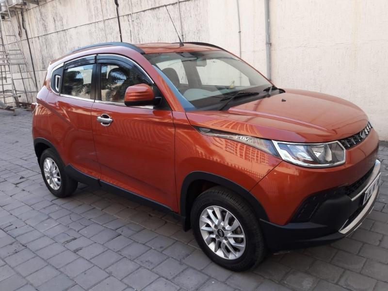 2017 Used Mahindra Kuv100 K6 PLUS 6 SEATER DIESEL