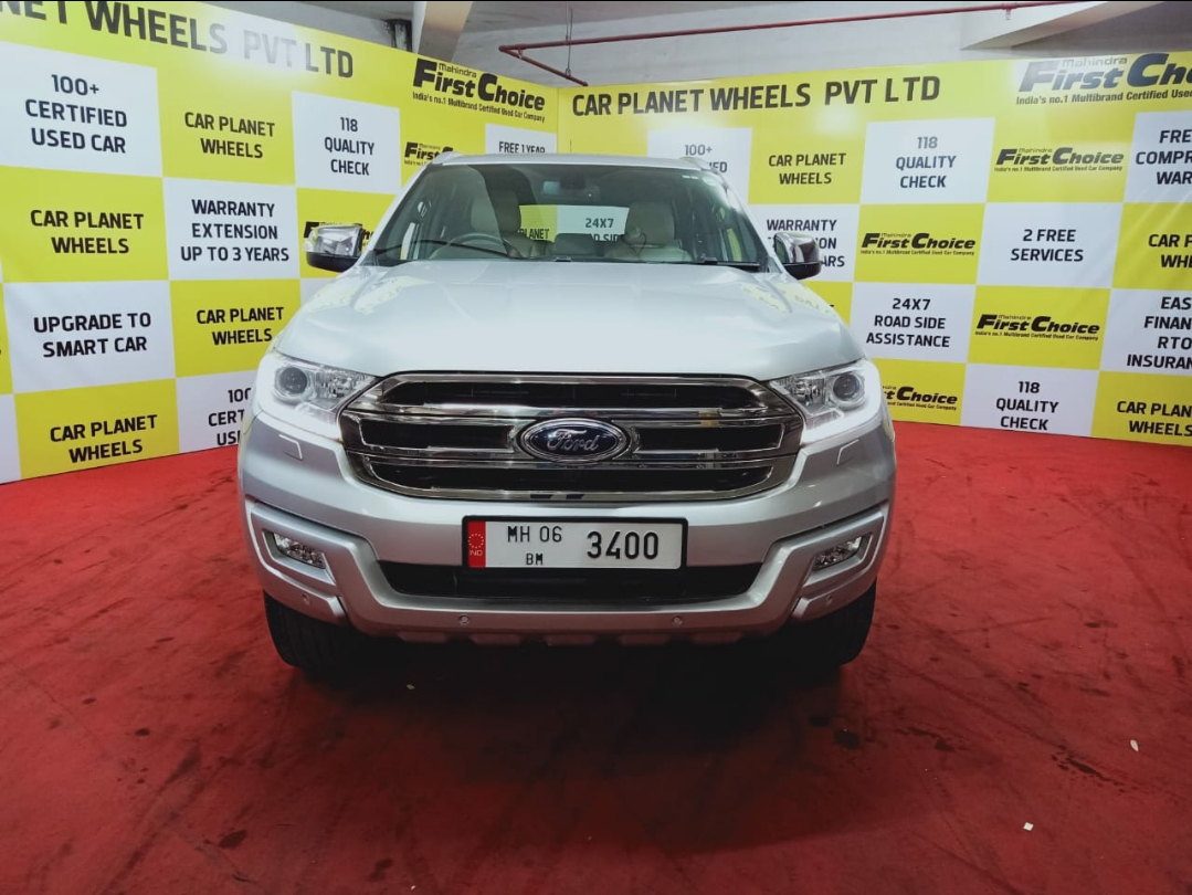 2017 Used FORD ENDEAVOUR TITANIUM 3.2 4X4 AT