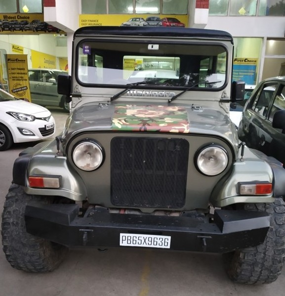 2014 Used Mahindra Thar CRDE 4X4 BS IV